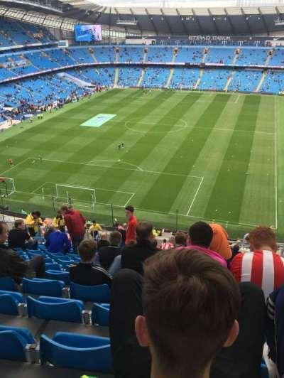 Etihad Stadium (Manchester), section: 314, row: AA, seat: 356