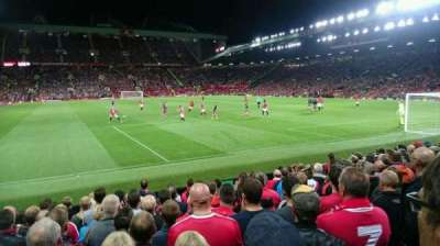 Old Trafford, section: W102, row: MM, seat: 159