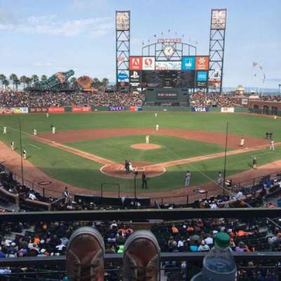AT&T Park, section: 215, row: A, seat: 2