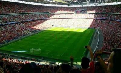 Wembley Stadium, section: 536, row: 15, seat: 298