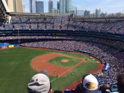 Rogers Centre, section: 535L, row: 16, seat: 109
