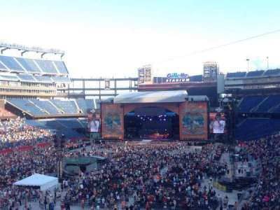 Gillette Stadium, section: 240, row: 12, seat: 16