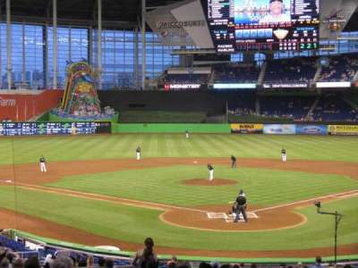 Marlins Park, section: 15, row: 14, seat: 9
