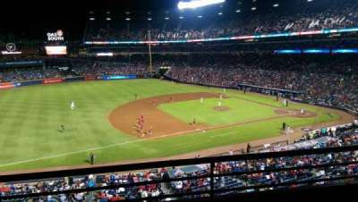 Turner Field, section: 316, row: 2, seat: 108
