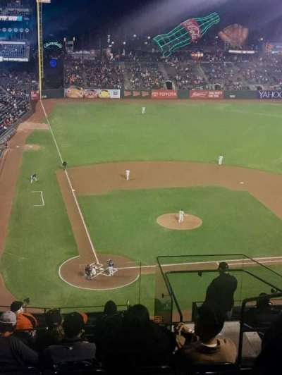 AT&T Park, section: 312, row: 8, seat: 3