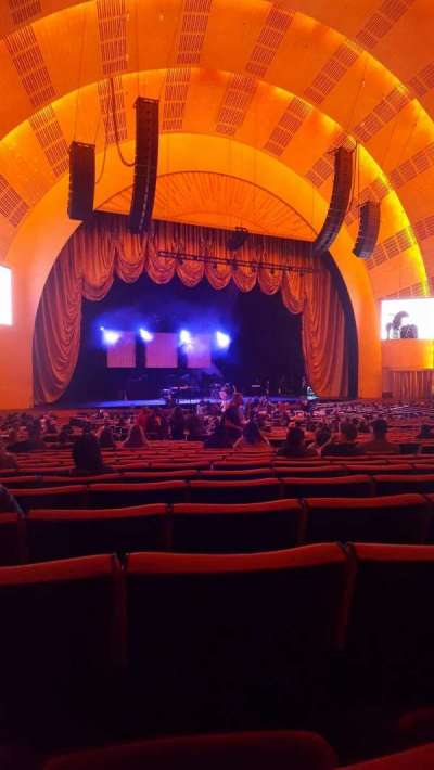 Radio City Music Hall, section: Orchestra 6, row: N, seat: 612