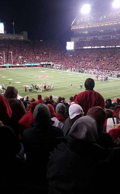 Memorial Stadium, section: 19, row: 41, seat: 11