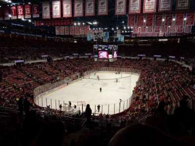 Joe Louis Arena, section: 213a, row: 13, seat: 13