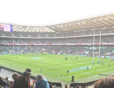 Twickenham Stadium, section: L19, row: 38, seat: 10