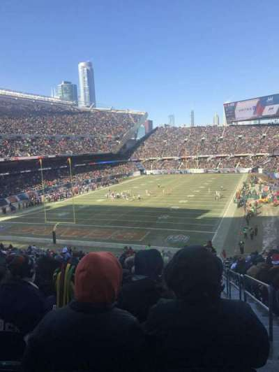 Soldier Field, section: 220, row: 19, seat: 24