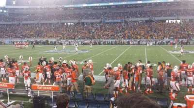 Camping World Stadium, section: 107, row: D, seat: 5 and 6