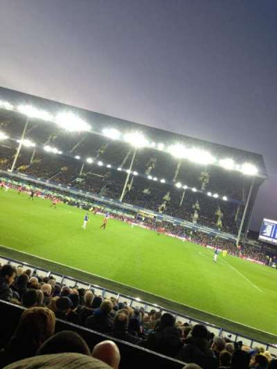 Goodison Park, section: LB4, row: D, seat: 204