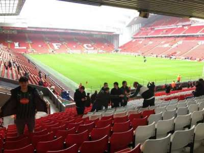 Anfield, section: 129, row: 29, seat: 201