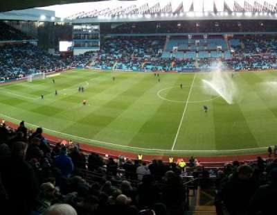Villa Park, section: P, row: Oo, seat: 133