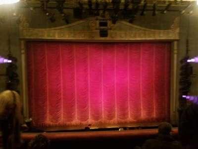 Broadhurst Theatre, section: mezz cent, row: 4, seat: 105