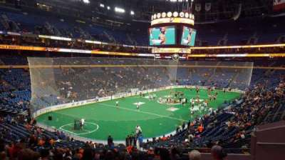 KeyBank Center, section: 109, row: 28, seat: 1