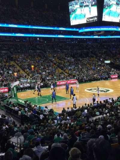 TD Garden, section: E15, row: 15, seat: 6