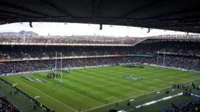 Murrayfield Stadium, section: 40, row: RR, seat: 16