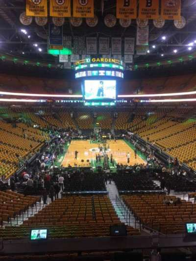 TD Garden, section: Sports Deck, row: C, seat: 32