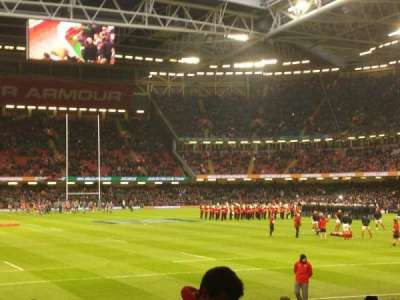 Principality Stadium section L22