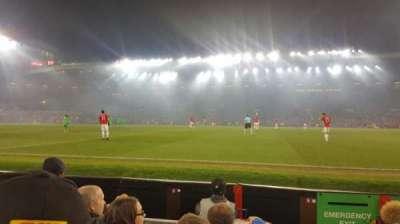 Old Trafford, section: N1408, row: DD, seat: 130