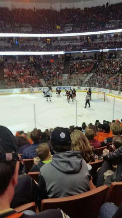Honda Center, section: 220, row: m, seat: 14