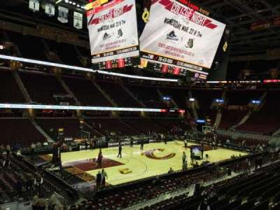 Quicken Loans Arena, section: 106, row: 16, seat: 8