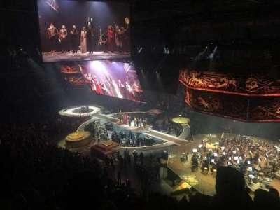 Mohegan Sun Arena, section: 104, row: 5, seat: 9