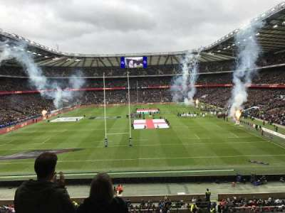 Twickenham Stadium, section: M19, row: 55, seat: 117