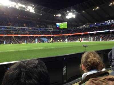 Etihad Stadium (Manchester), section: Block 106, row: 2, seat: 123
