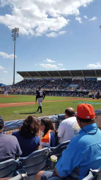 Charlotte Sports Park, section: 114, row: 3, seat: 7