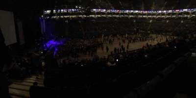 The O2 Arena, section: 101, row: X, seat: 31
