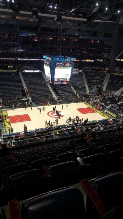 Philips Arena, section: 312, row: N, seat: 15