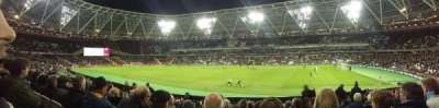 London Stadium, row: 17, seat: 175