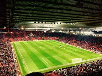 Old Trafford, section: 3434, row: 4, seat: 20