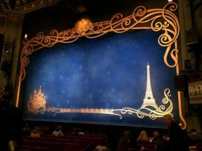 Broadhurst Theatre, section: Orchestra Right, row: L, seat: 10