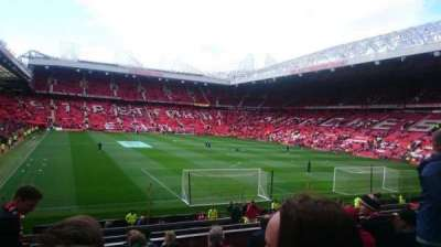 Old Trafford, section: E233, row: 10, seat: 163