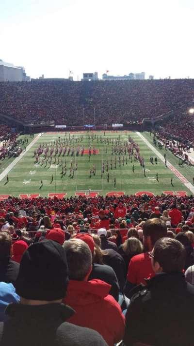 Memorial Stadium, section: 36-B, row: 95, seat: 17
