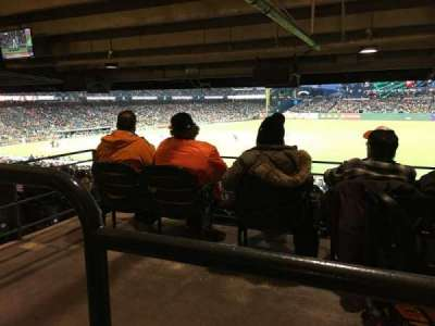 AT&T Park, section: 104, row: 42, seat: 3-7