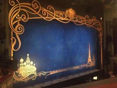 Broadhurst Theatre, section: Mezzanine, row: A, seat: 19