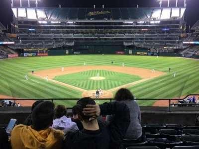 Oakland Alameda Coliseum, section: 217, row: 6, seat: 6