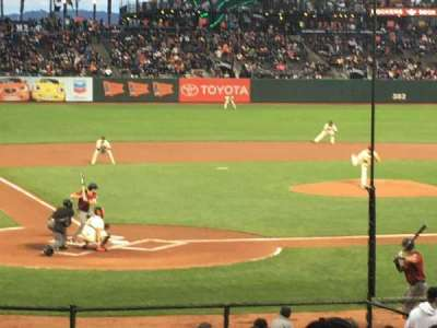 AT&T Park section 112