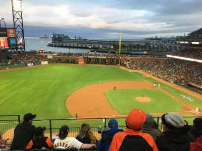 AT&T Park, section: 324, row: E, seat: 21