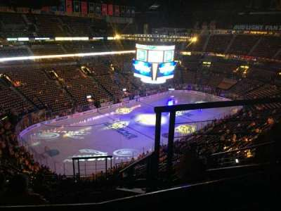 Bridgestone Arena, section: 305, row: J, seat: 2
