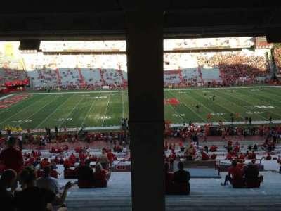 Memorial Stadium, section: 27, row: 43, seat: 16-17-18