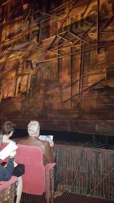 Broadway Theatre - 53rd Street, section: Orchestra, row: D, seat: 3
