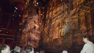 broadway theatre - 53rd street, section: Orchestra, row: D, seat: 1