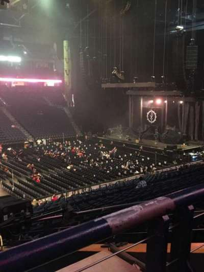 Bridgestone Arena, section: 105, row: P, seat: 22