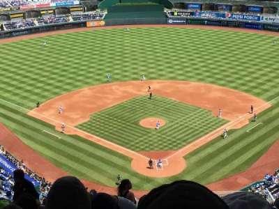Kauffman Stadium, section: Up high, row: RR, seat: 1-7