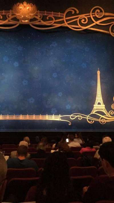 Broadhurst Theatre, section: ORCHC, row: J, seat: 112